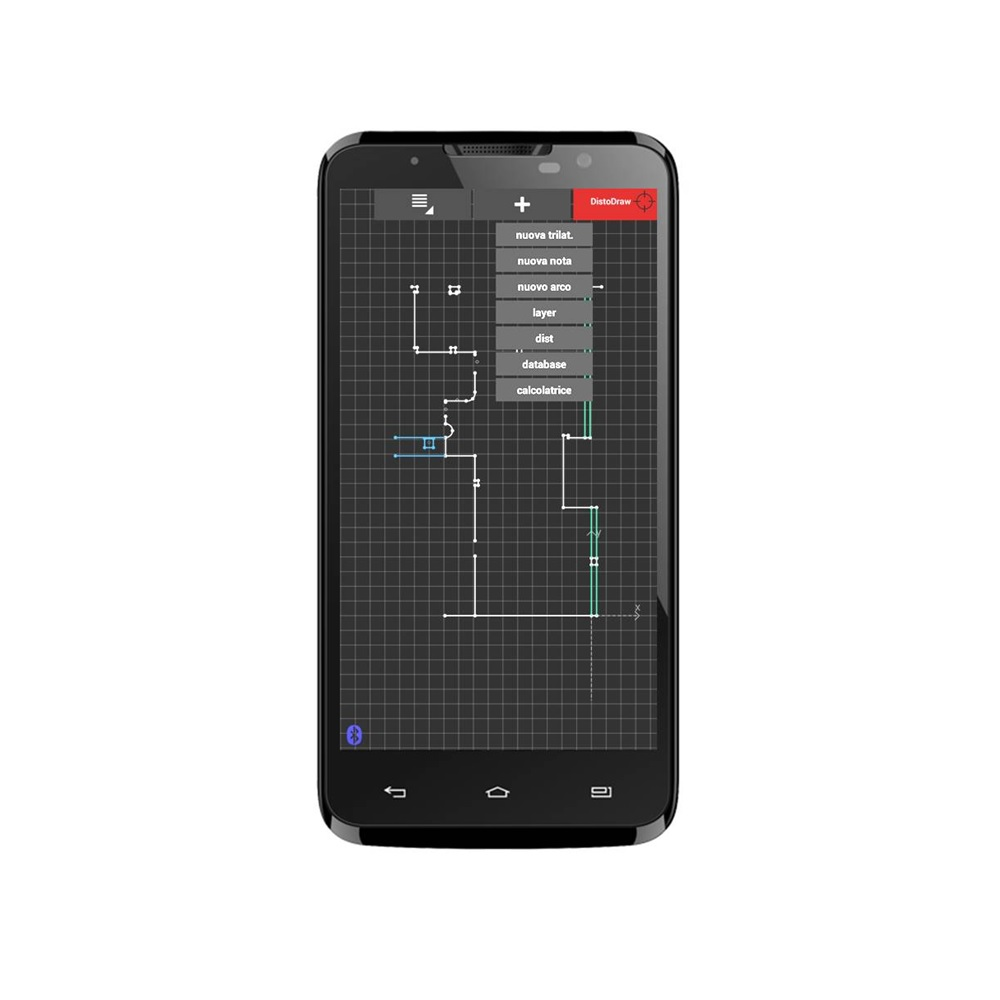 Software DistoDraw per Android