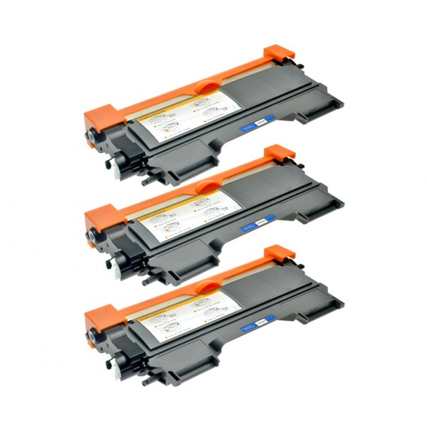 Kit 3 Toner comp. Brother TN-2010 TN-2220